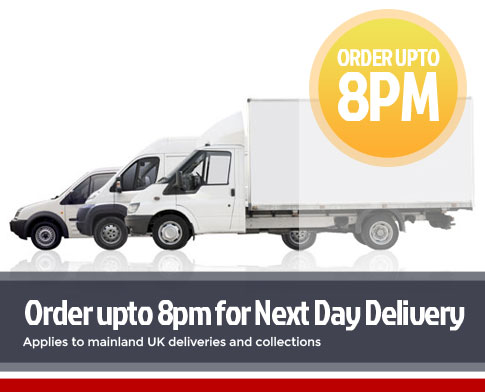 Order up to 8pm for next day delivery